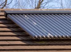 A solar thermal installation