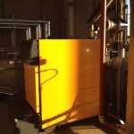 Commercial biomass boiler installation, Nottingham