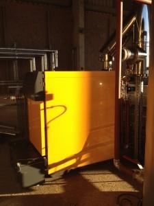 Commercial biomass boiler installation, Nottingham